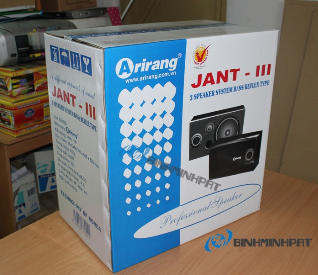 Thùng carton loa Arirang JANT – 3